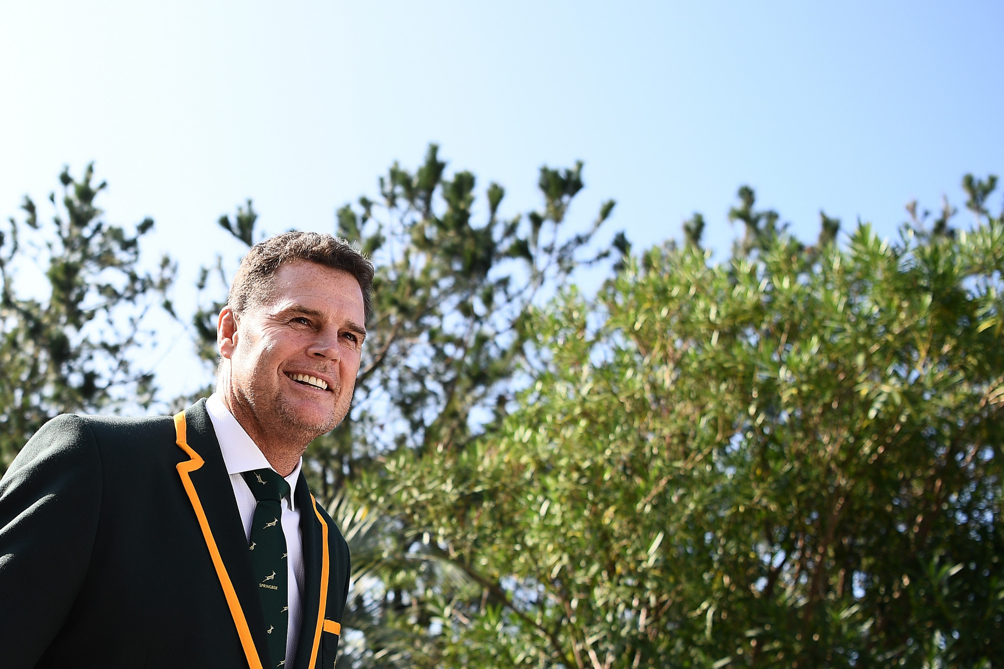It's a final farewell for South Africa coach Rassie Erasmus ©Getty Images