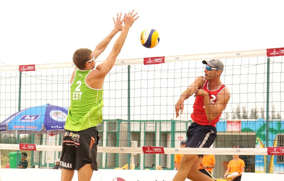Menendez and Huerta defeat third seeds at FIVB Beach World Tour