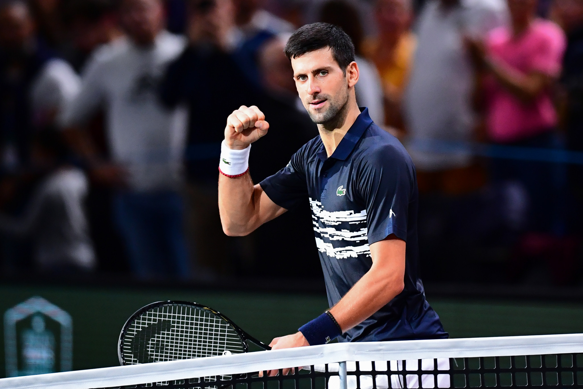 Djokovic eases past Tsitsipas to reach semi-finals of Paris Masters