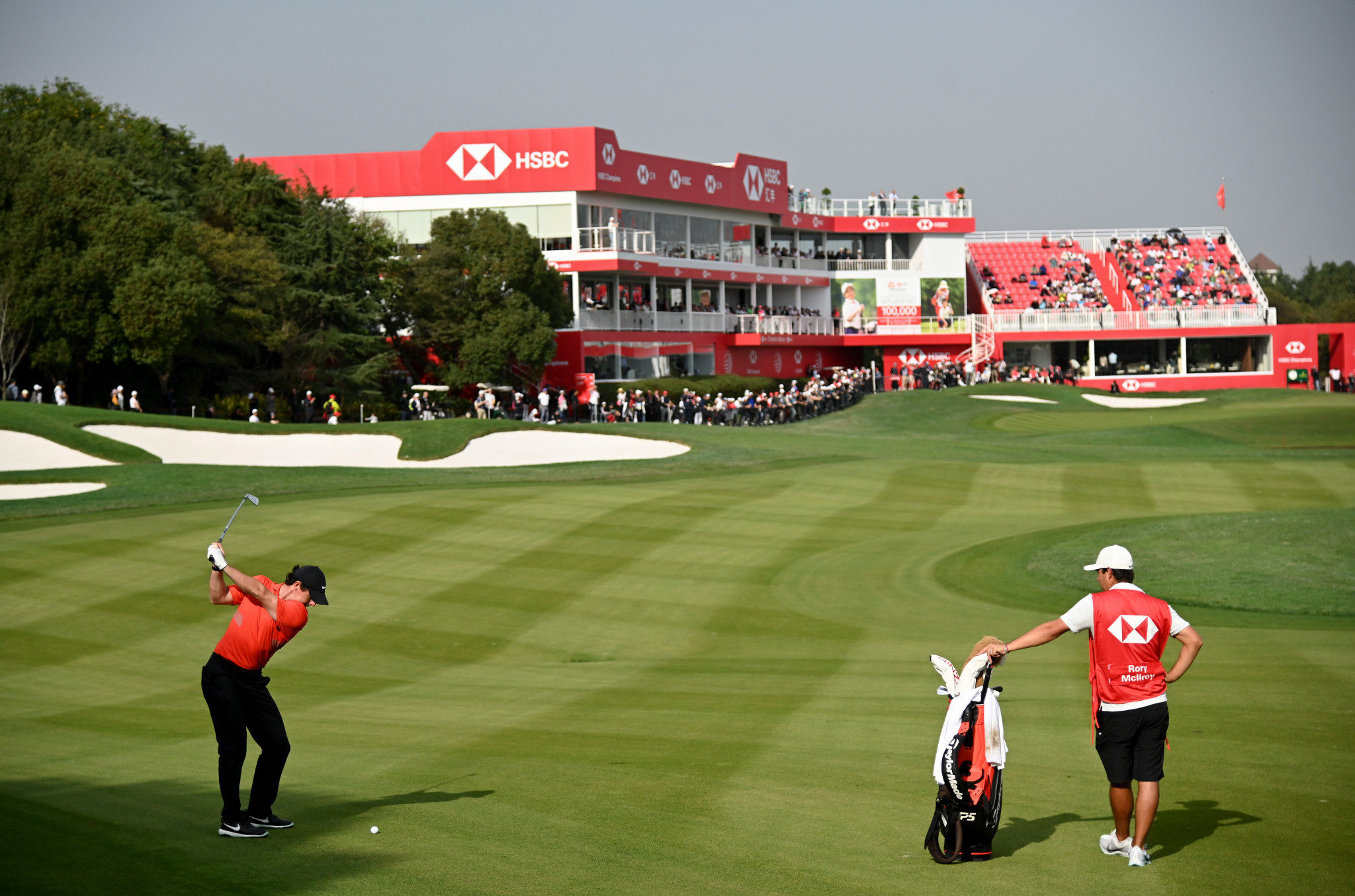 Late eagle from super McIlroy wows WGC-HSBC Champions