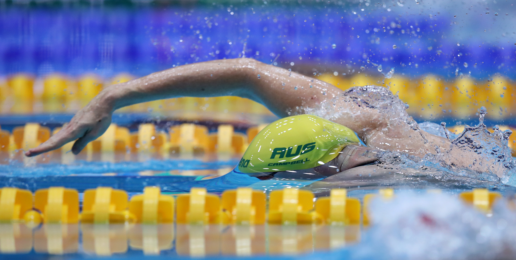 Cate Campbell of Australia was victorious in the women's 50m freestyle ©Getty Images