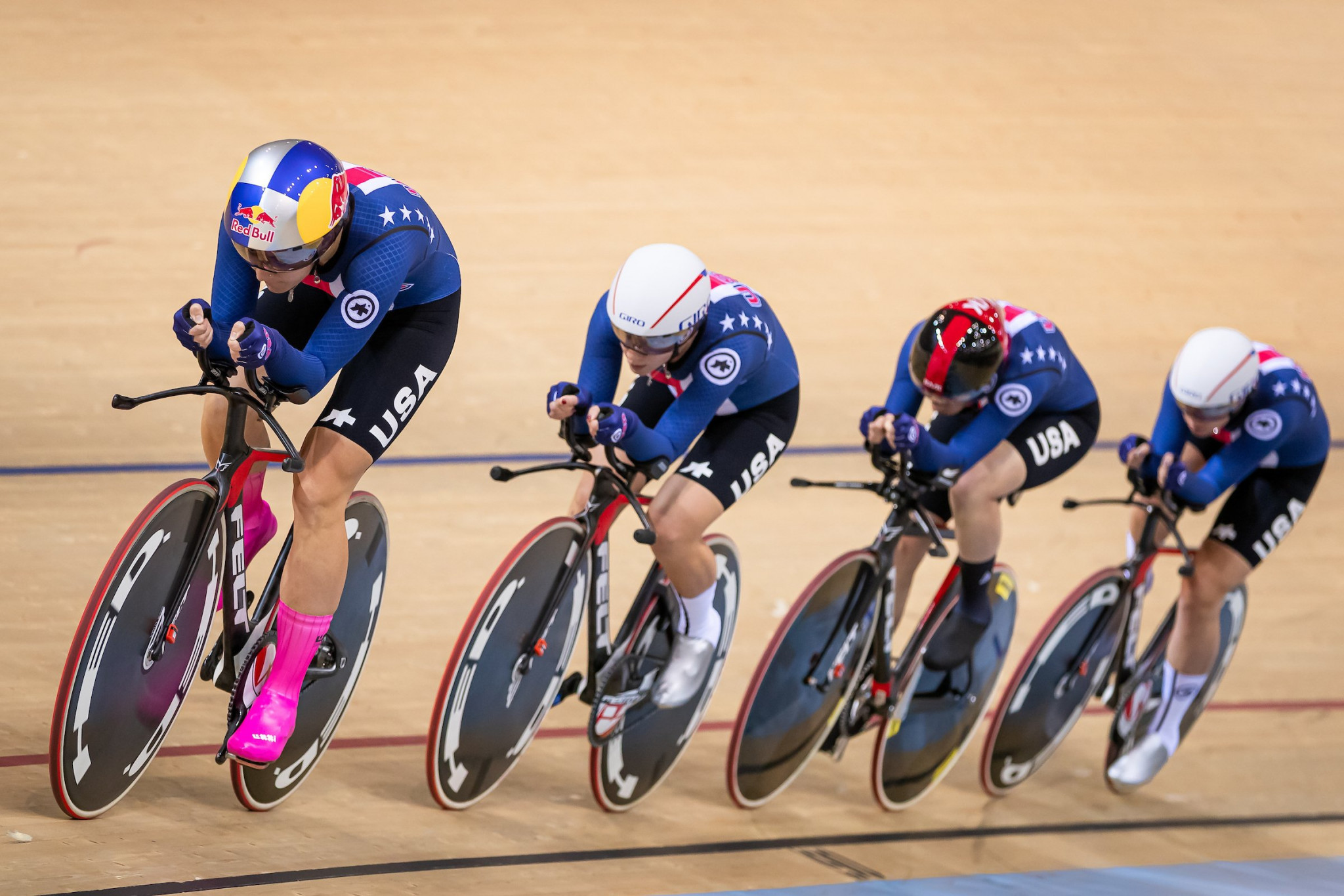 United States impress with women's team pursuit victory at Track Cycling World Cup