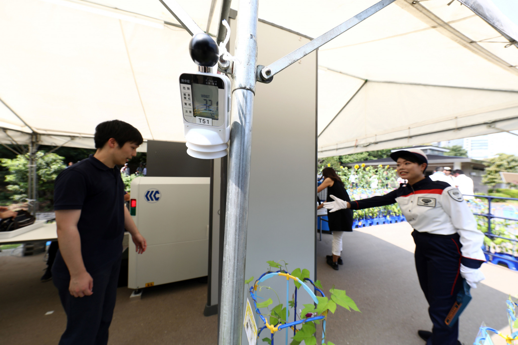 Tokyo 2020 has been testing security measures in preparation for the Olympic and Paralympic Games ©Getty Images
