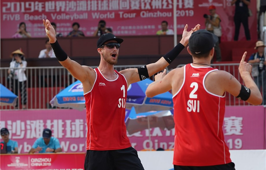 Top seeds Heidrich and Gerson reach semi-final at FIVB Beach World Tour