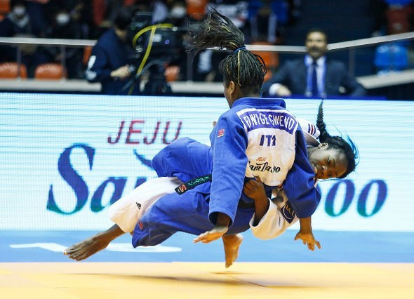 World champion Agbegnenou secures another victory at IJF Grand Prix in Jeju