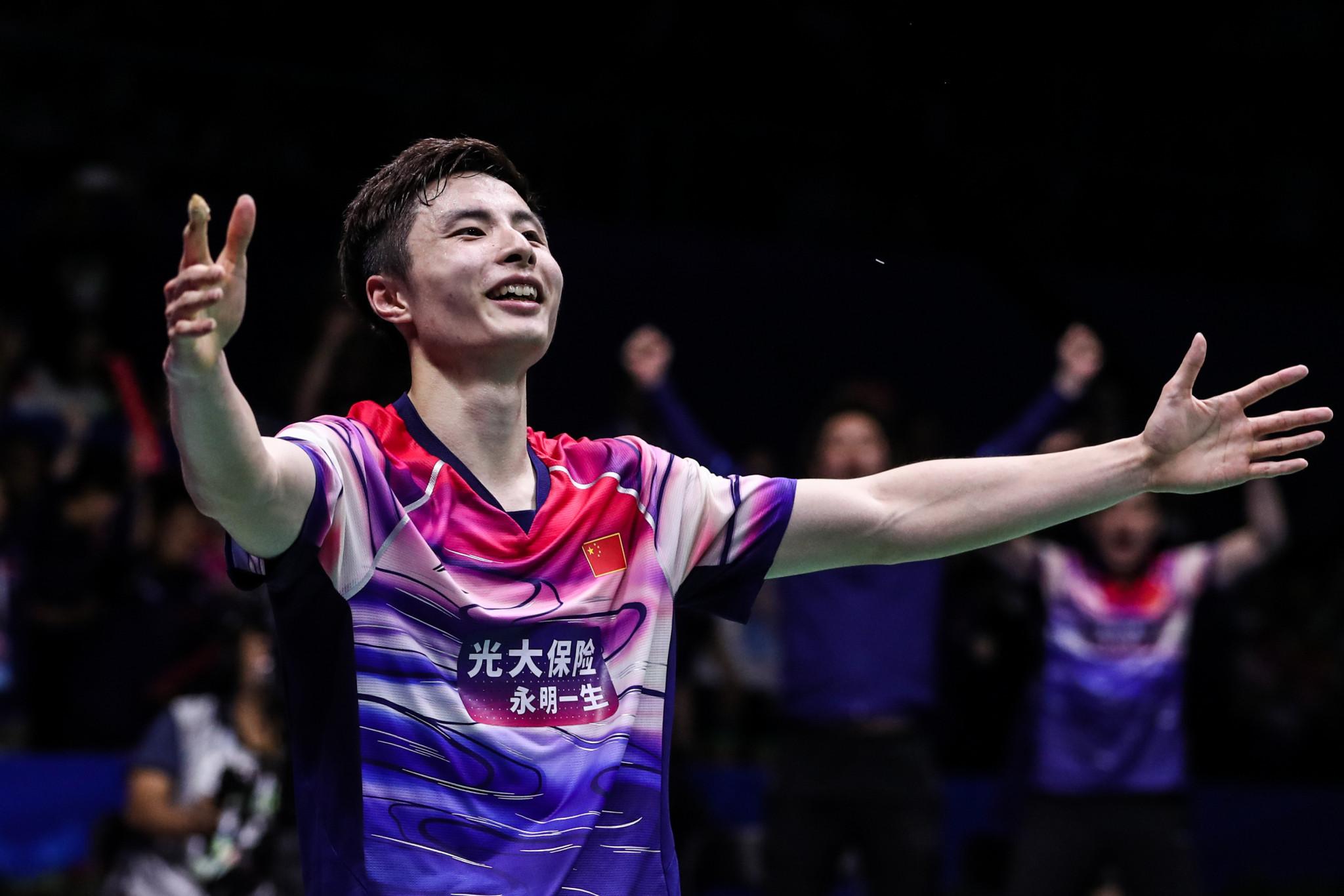 Top seeds Shi and Li reach finals at BWF Macau Open