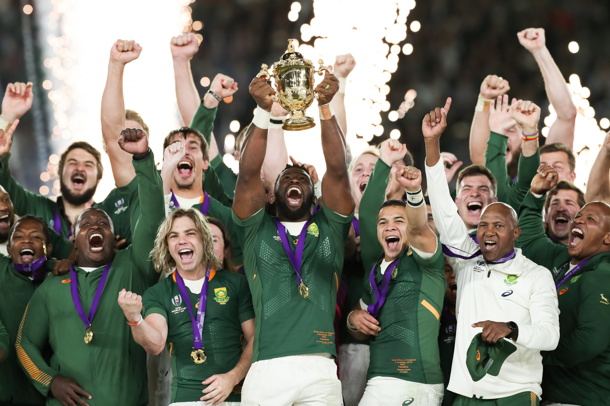 South Africa earn third Rugby World Cup title with ruthless defeat of England