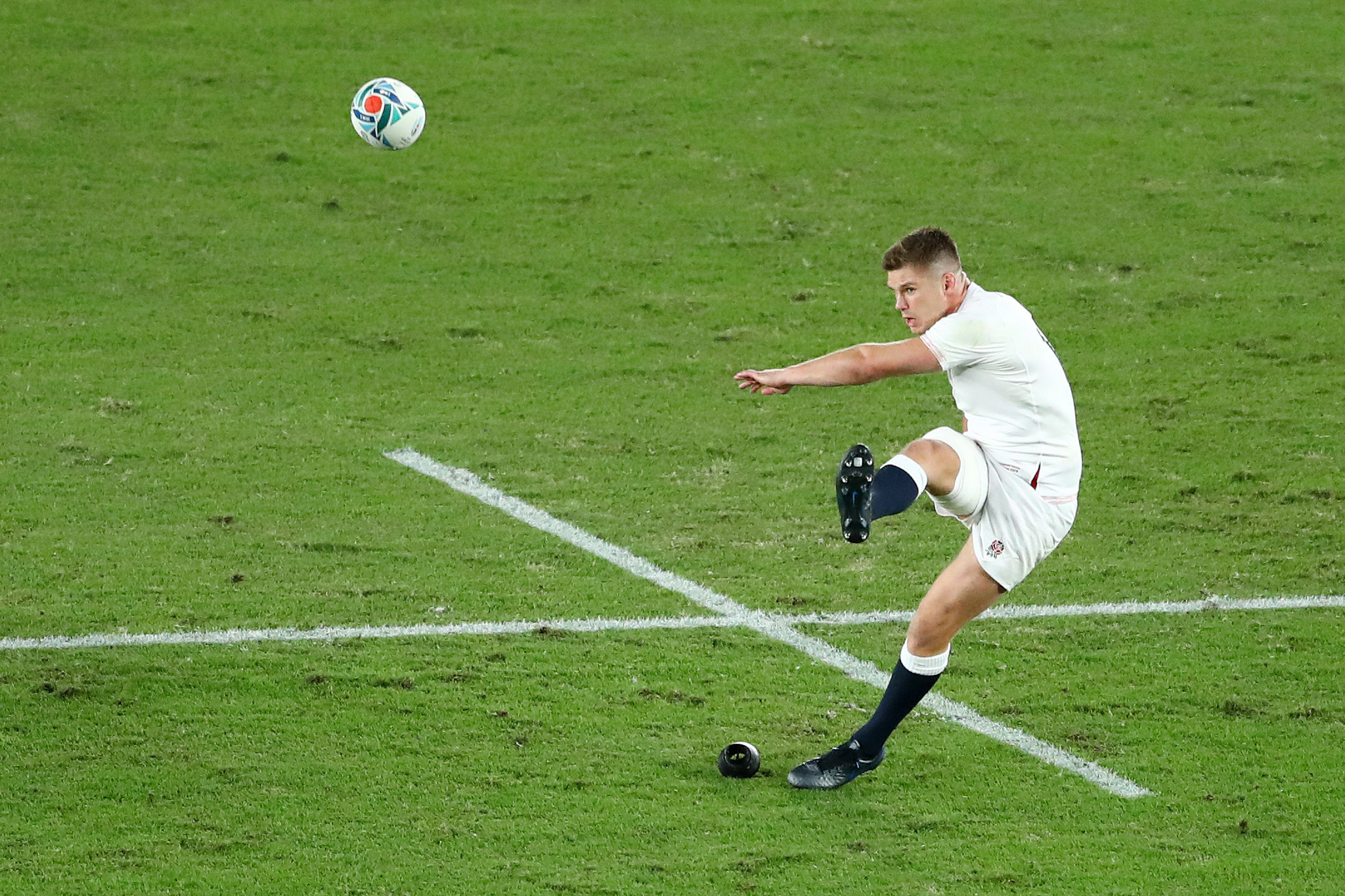 England captain Owen Farrell scored all 12 of his team's points ©Getty Images