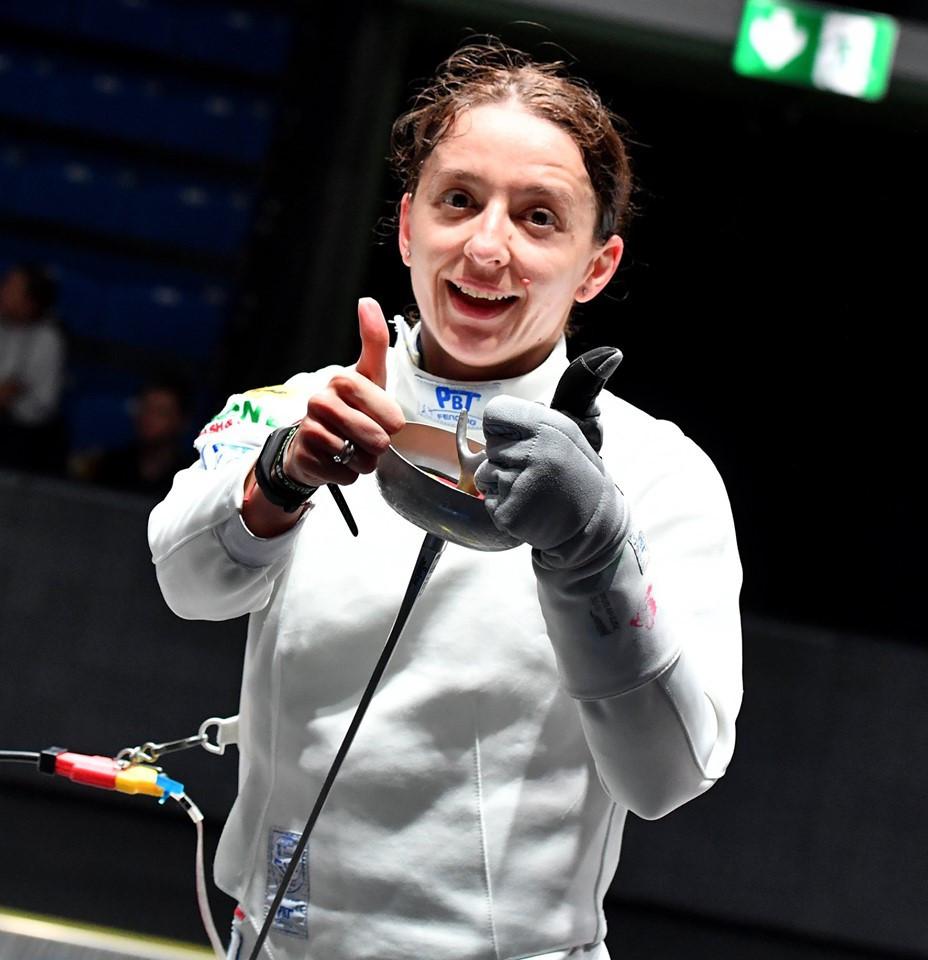 Romania's Ana Maria Popescu triumphed at the FIE Women's Épée World Cup in Tallinn ©FIE/Facebook/Augusto Bizzi