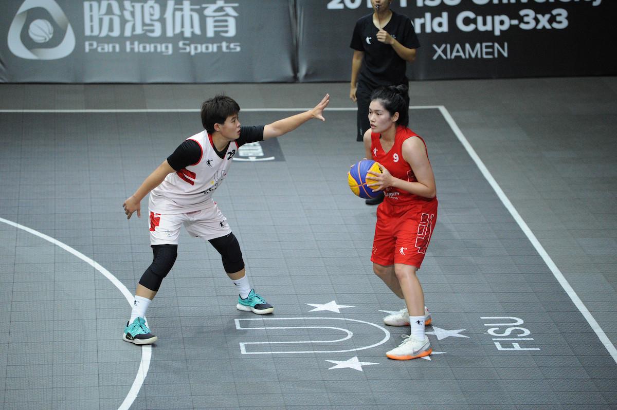 Defending champions Tsinghua University book quarter-final place at FISU 3x3 World Cup
