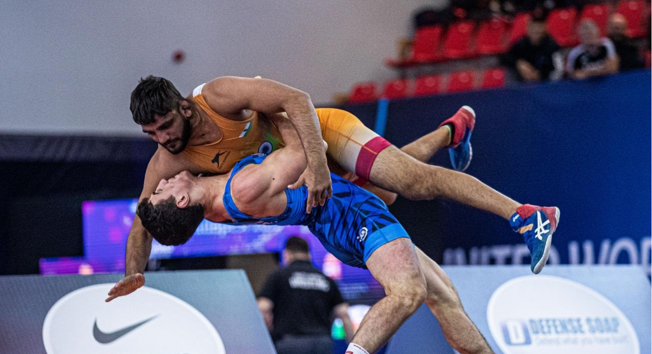 Iran claim two golds as first Greco-Roman medals awarded at UWW Under-23 World Championships