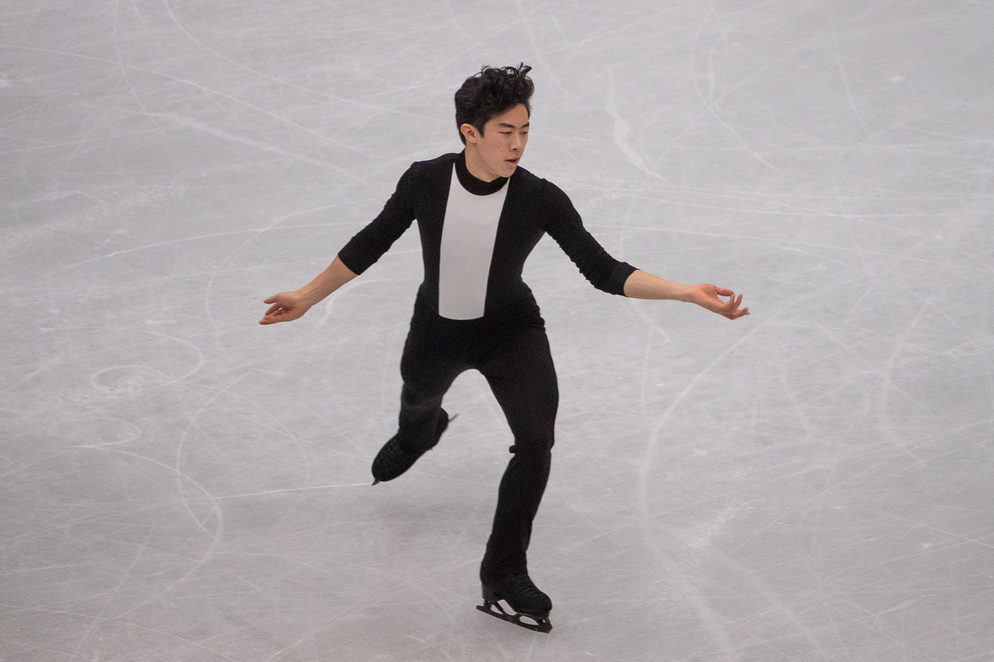 Nathan Chen of the US won his eighth consecutive ISU Grand Prix title ©Getty Images