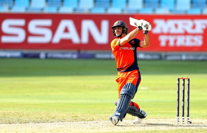 The Netherlands beat Papua New Guinea to win ICC T20 World Cup qualifier