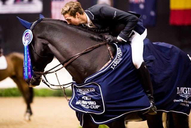 Moggre becomes youngest winner of FEI Jumping World Cup in Lexington