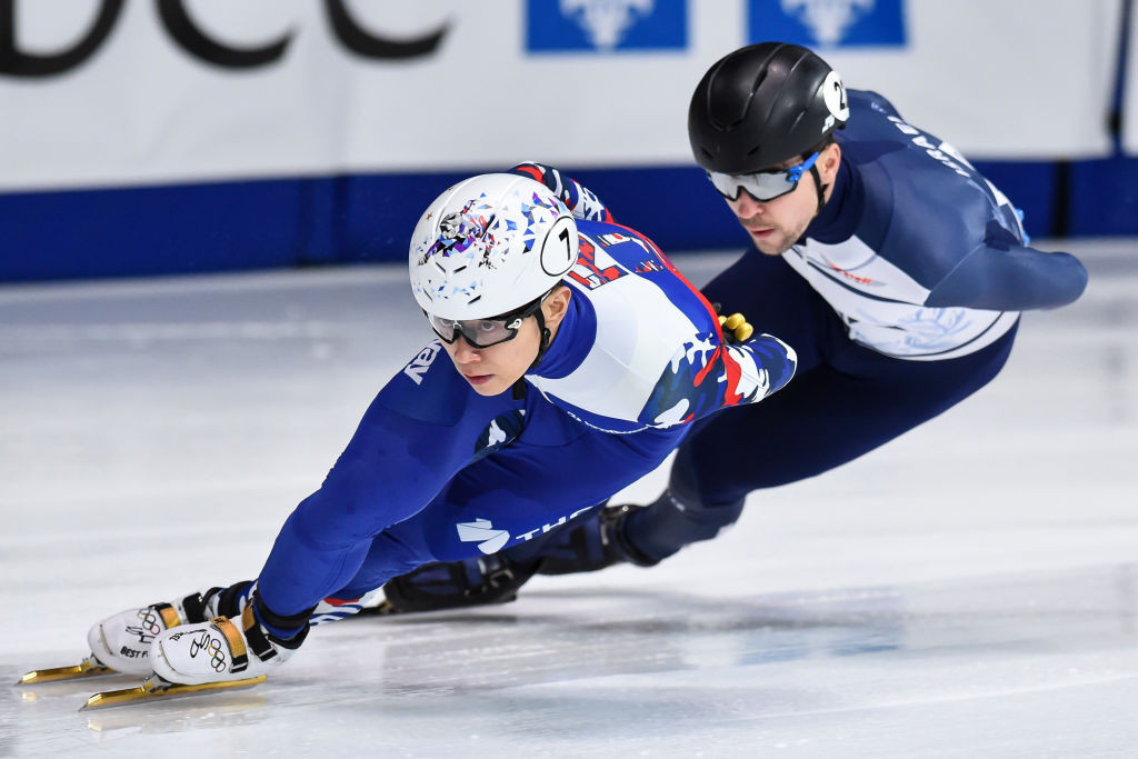 Legend An anchors Russia to success as first medals awarded at ISU Short Track Speed Skating World Cup