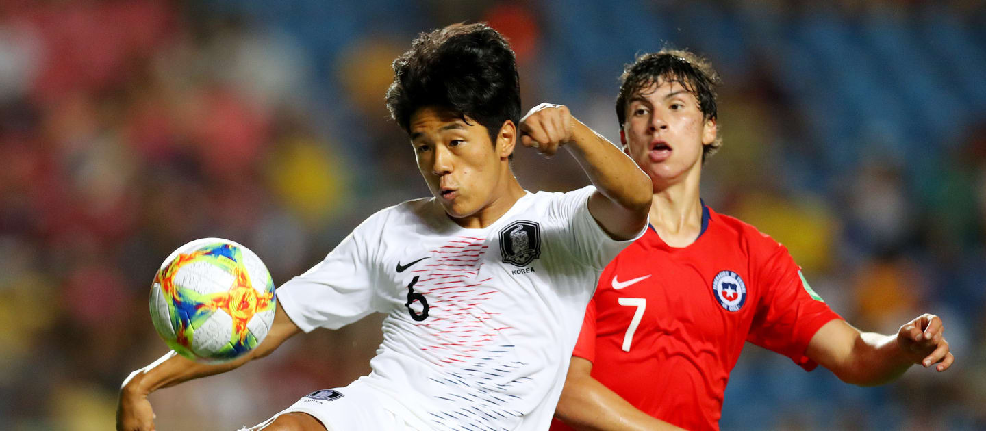 South Korea beat Chile to book last 16 place at FIFA Under-17 World Cup