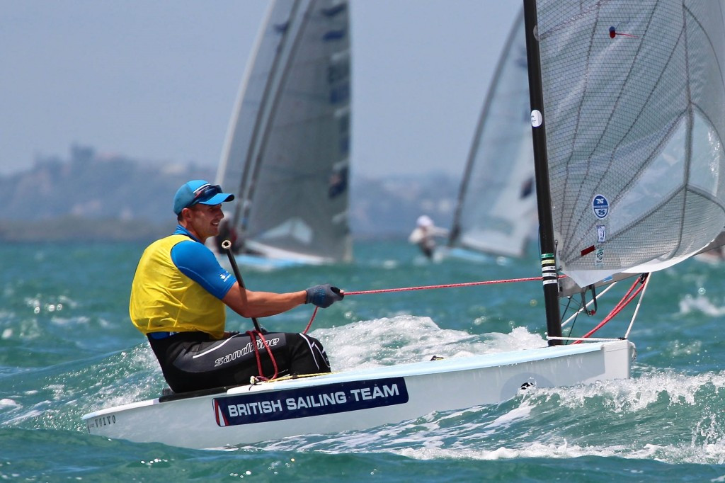 Scott builds commanding lead on fourth day of Finn Gold Cup