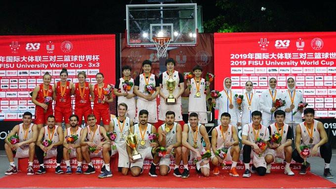 Tsinghua University and Paulista University won the women and men's FISU World Cup - 3x3 ©FISU