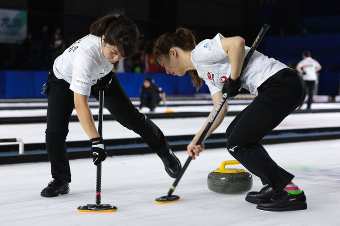 China and Japan are joint leaders in the women's competition ©WCF