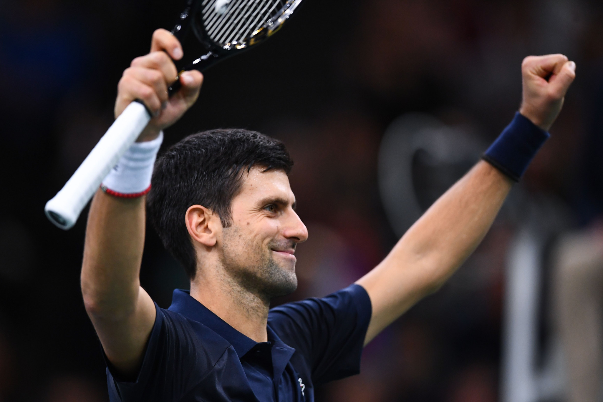 Djokovic dominates Shapovalov to claim fifth Paris Masters title