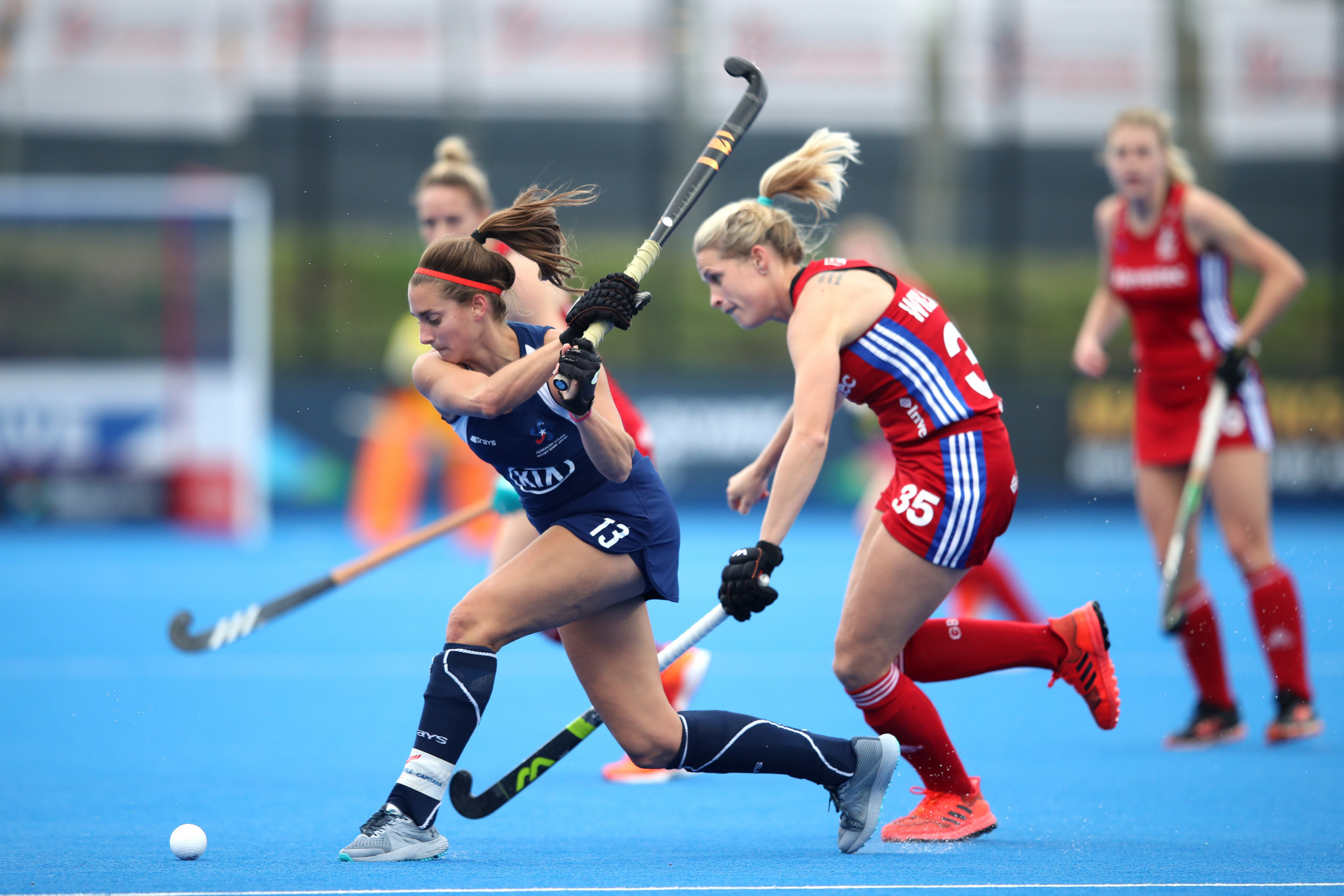 Olympic champions Britain qualify for women's hockey event at Tokyo 2020