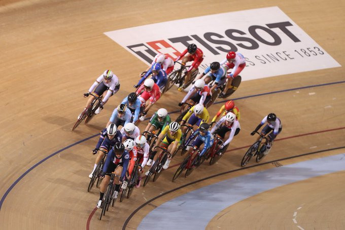 American Jennifer Valente was the winner in the women's omnium at the Track Cycling World Cup in Minsk ©UCI