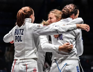 Poland came out on top in the team event as action concluded today at the FIE Women's Épée World Cup in Estonia's capital Tallinn ©FIE/Twitter