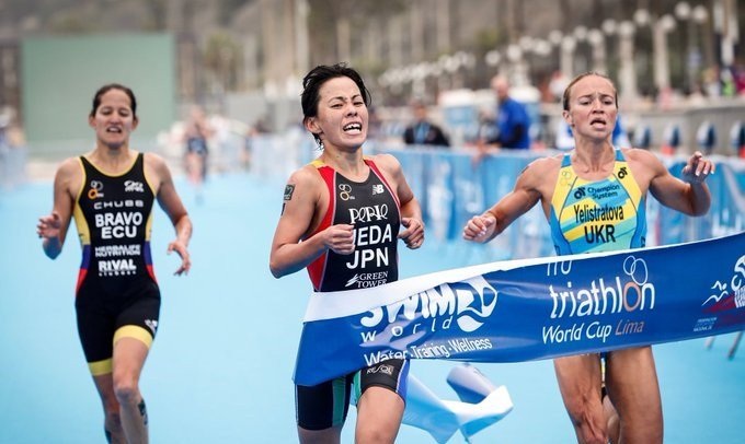 Ueda claims second successive ITU World Cup title in Lima