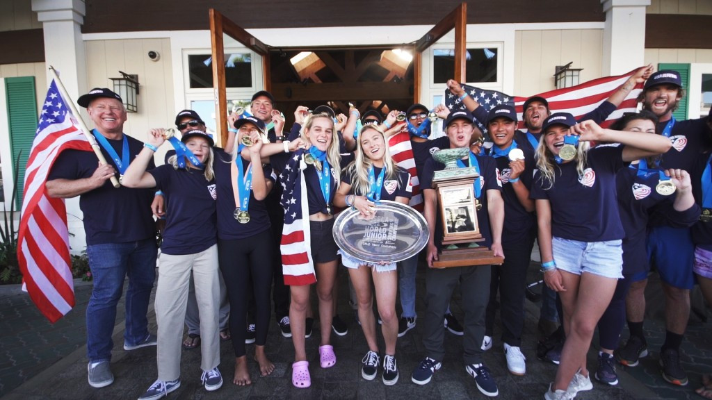 The United States wrapped up the team title on the final day at Huntington Beach ©ISA
