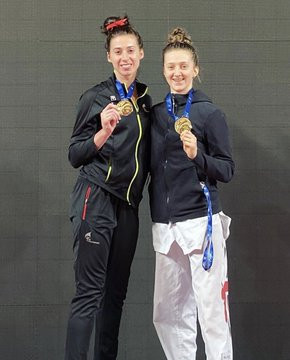 Double delight for Britain at G4 Extra European Taekwondo Championships