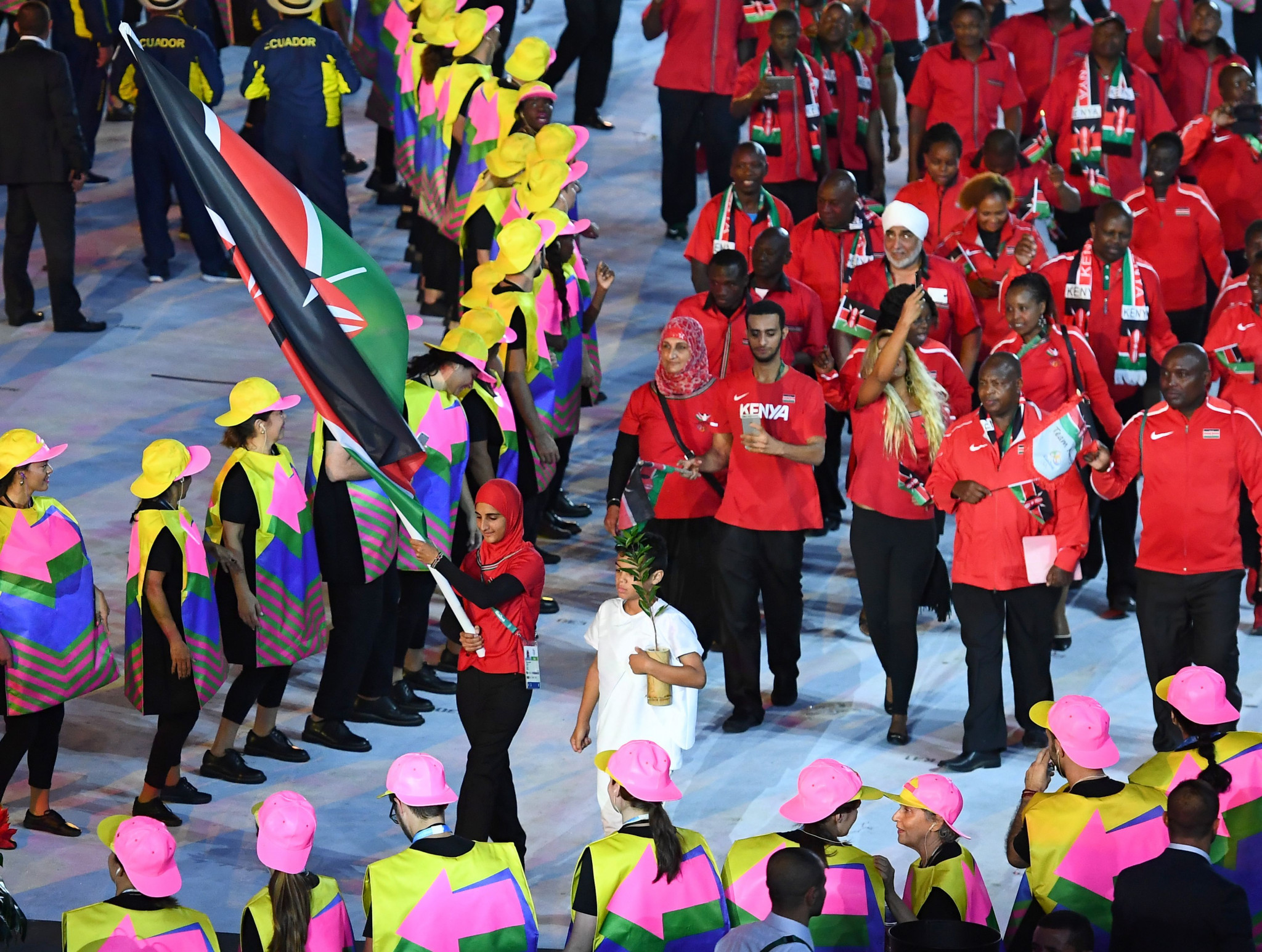 Kenya's appearance at Rio 2016 was overshadowed by corruption claims ©Getty Images