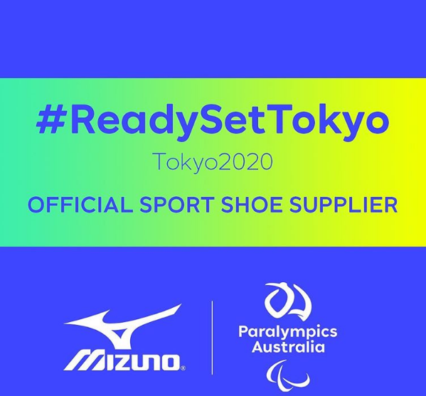 Mizuno partners with Australian Paralympic team for Tokyo 2020