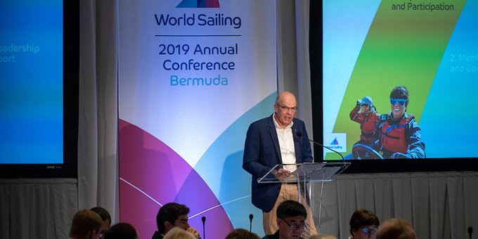 World Sailing's accounts were presented during the Council meeting and AGM ©World Sailing