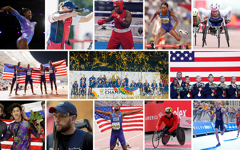USOPC announce Best of October finalists for Team USA Awards