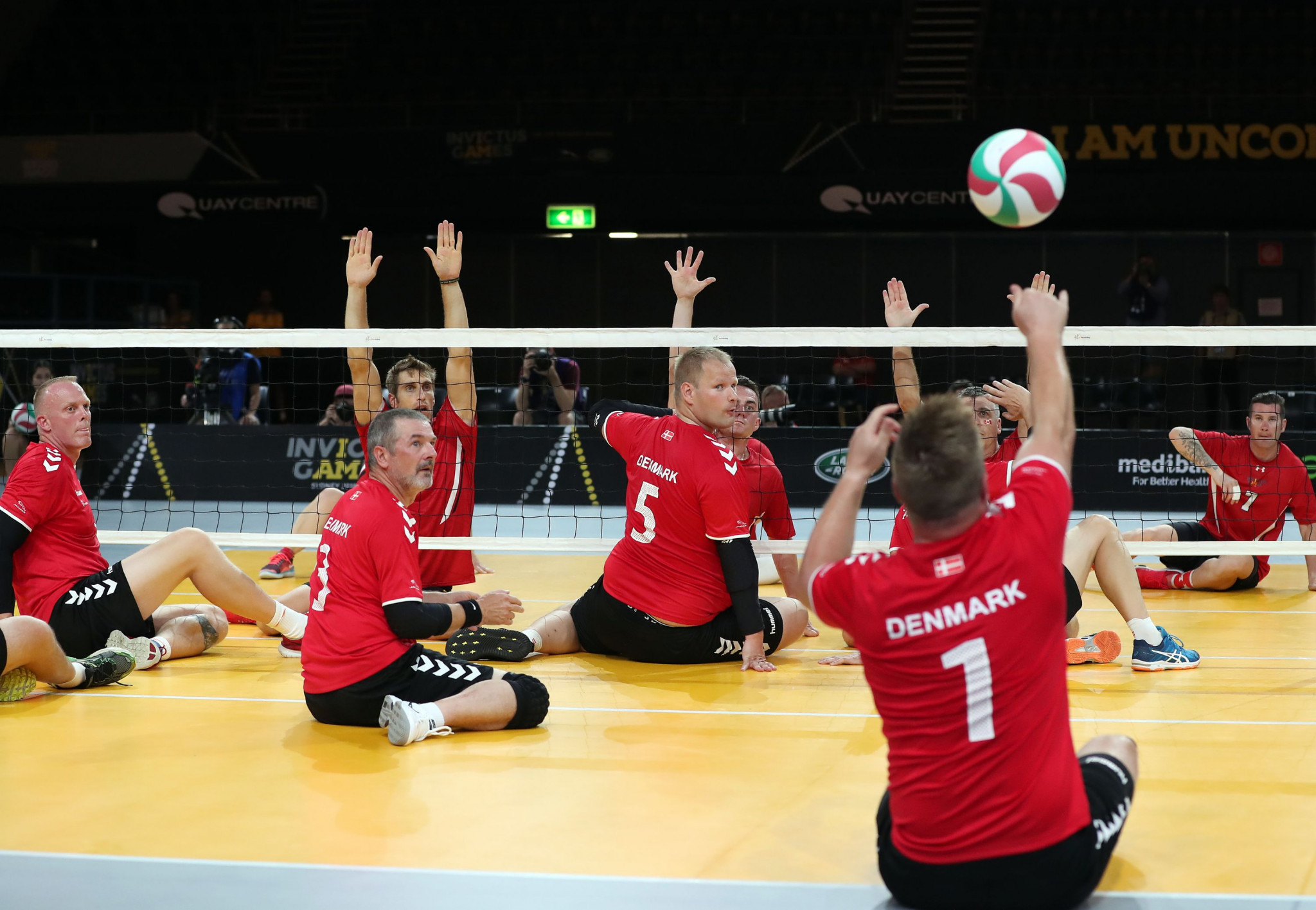 Sitting volleyball will make its IWAS World Games debut next year ©Getty Images
