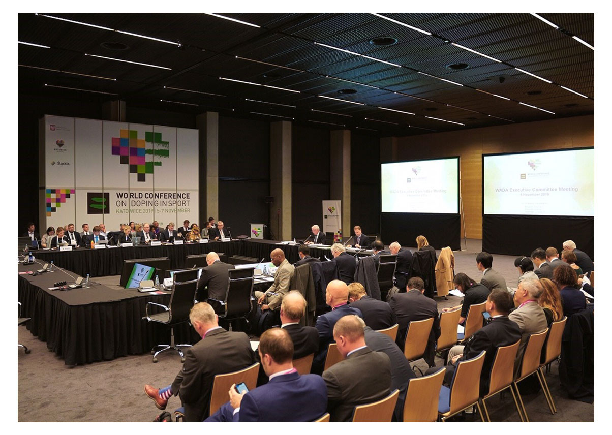 The World Anti-Doping Agency Executive Committee heard 47 cases based on evidence from the Moscow Laboratory have been sent to International Federations ©WADA