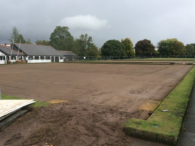 First stage of upgrade for Birmingham 2022 lawn bowls venue completed