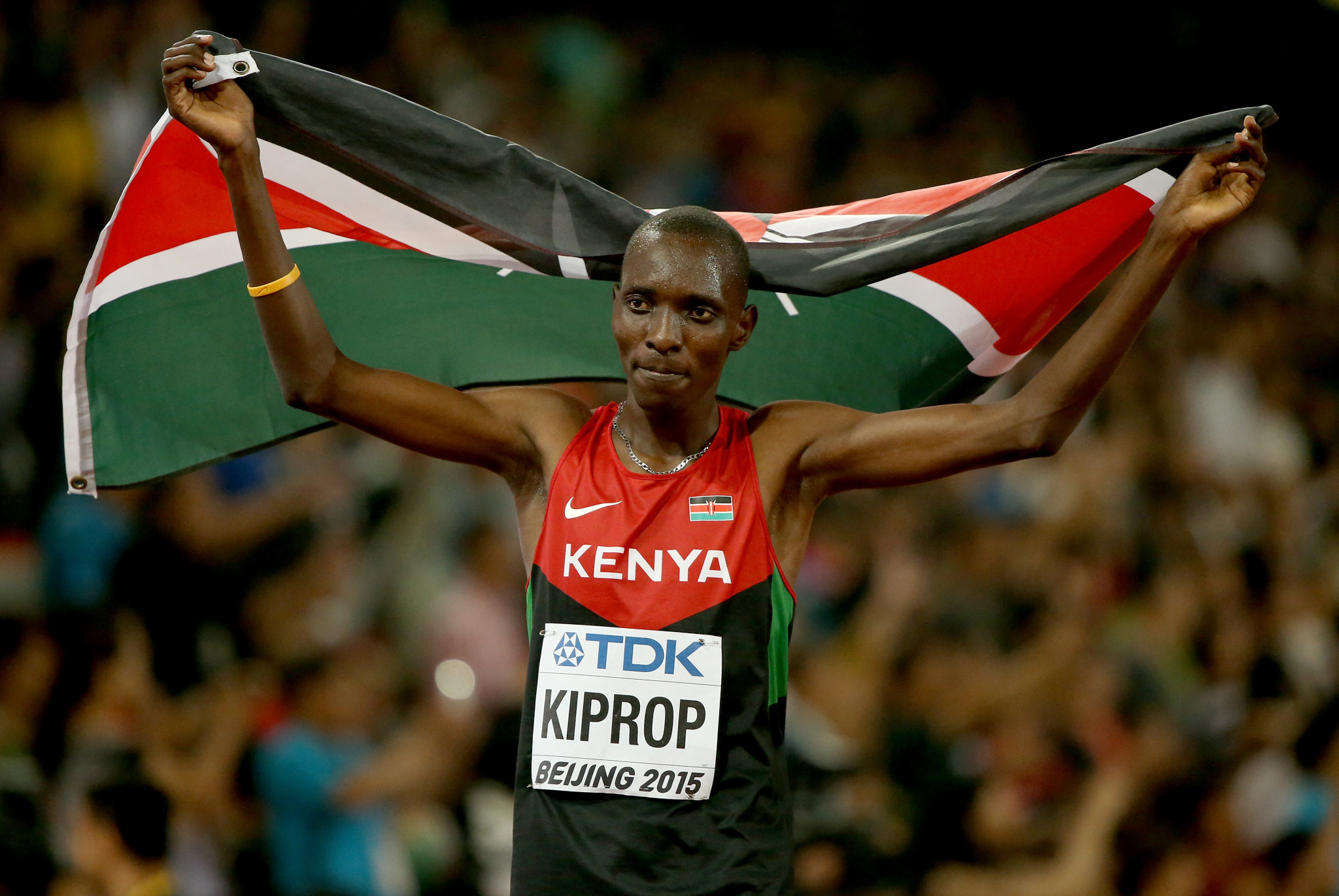 Asbel Kiprop of Kenya is one of the biggest names to test positive for doping under the AIU enforcement ©Getty Images