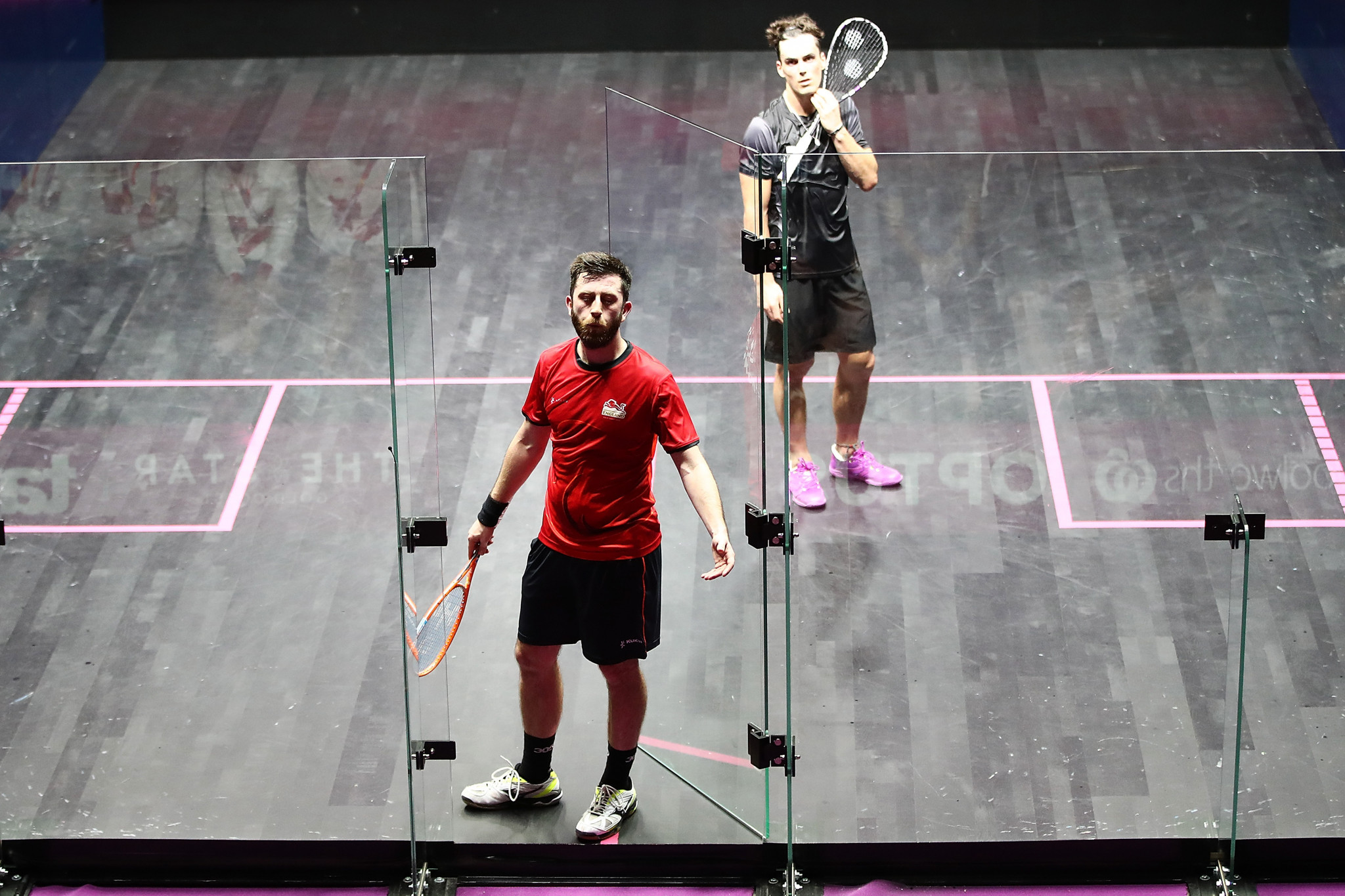 The World Squash Federation will discuss players communicating with officials ©Getty Images