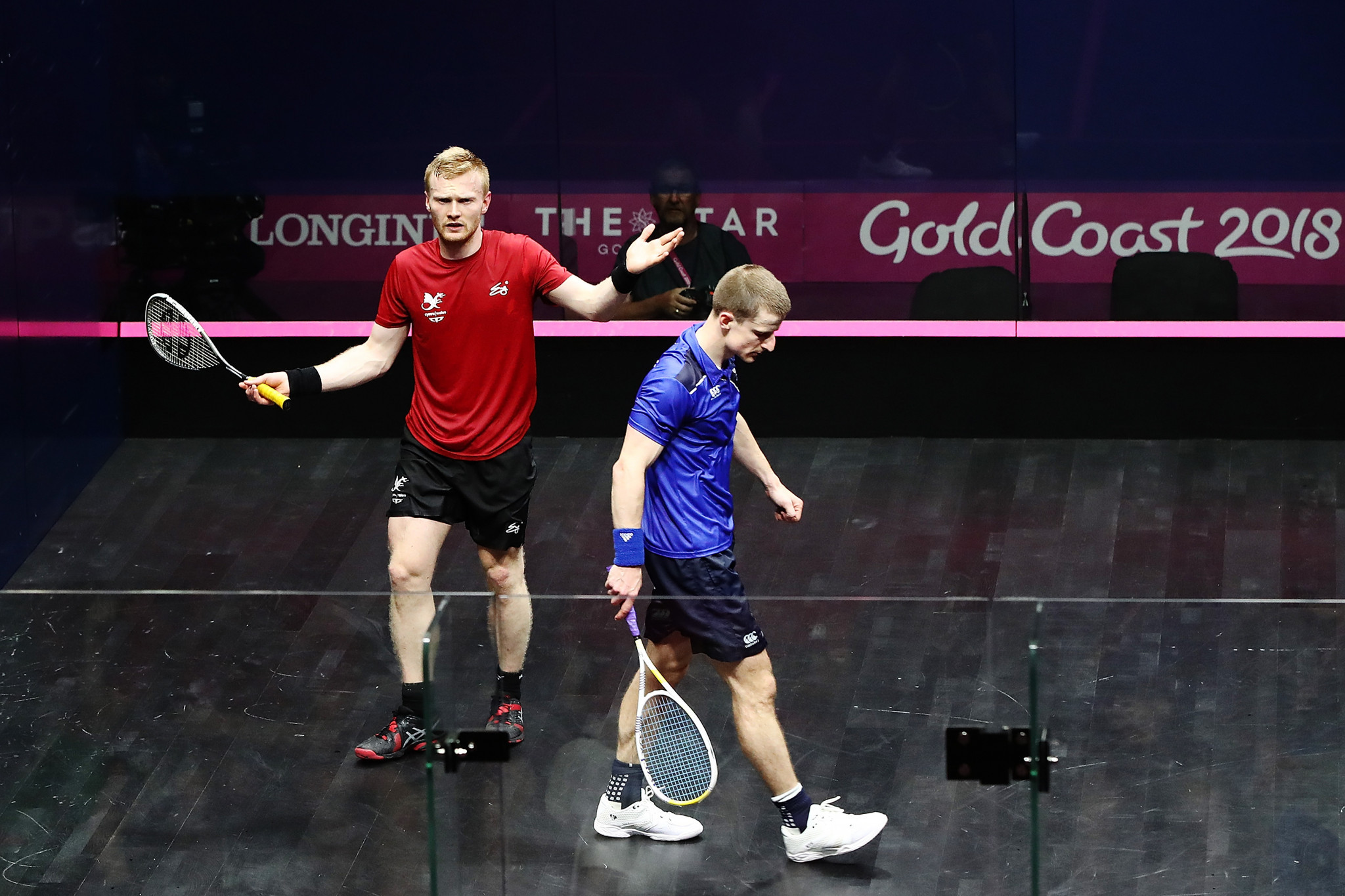 There are claims squash has an image problem because of dissent from players ©Getty Images
