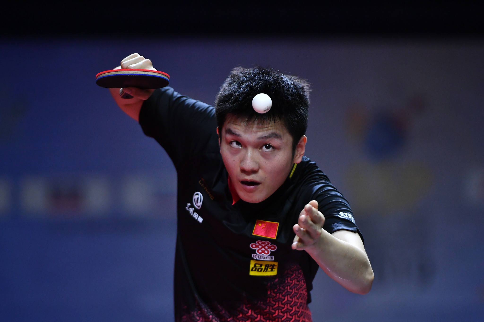 Fan Zhendong will lead the Chinese men's team as they bid to defend their title ©Getty Images