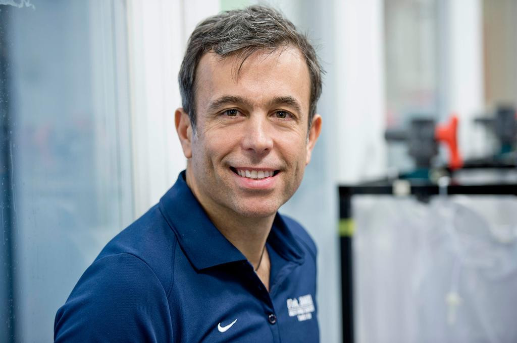 The new gene test that could be ready in time for next year's Olympic Games in Tokyo has been developed by University of Brighton professor Yannis Pitsiladis, who has been working on it since 2006 ©University of Brighton