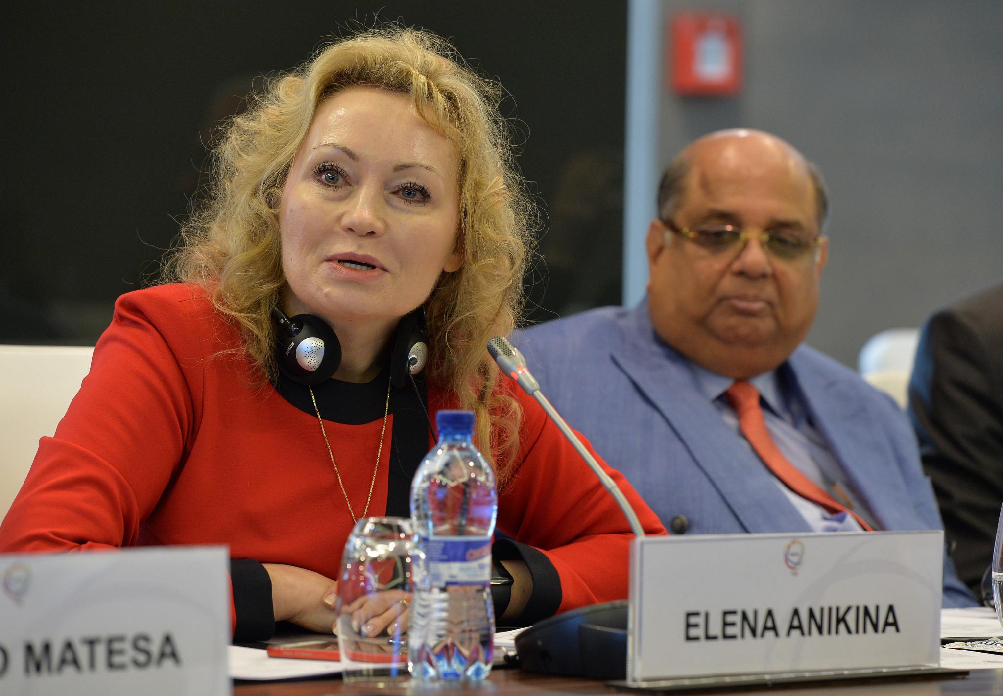 RBF President Elena Anikina said Oleg Sokolov had created an unhealthy culture in the sport ©Getty Images