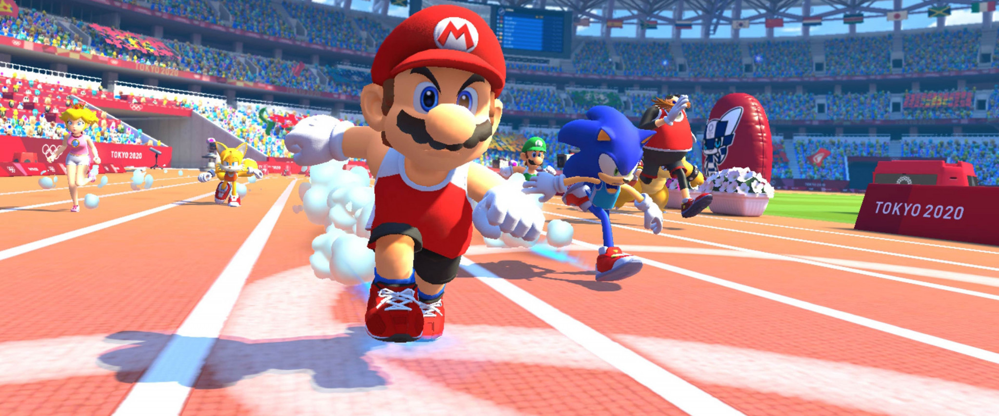 The video game Mario & Sonic at the Olympic Games Tokyo 2020 has been released today in the Americas ©Sega
