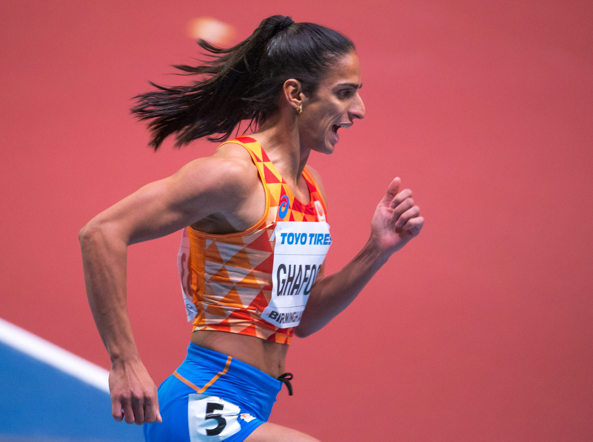 Dutch Olympian Ghafoor jailed for eight-and-a-half years