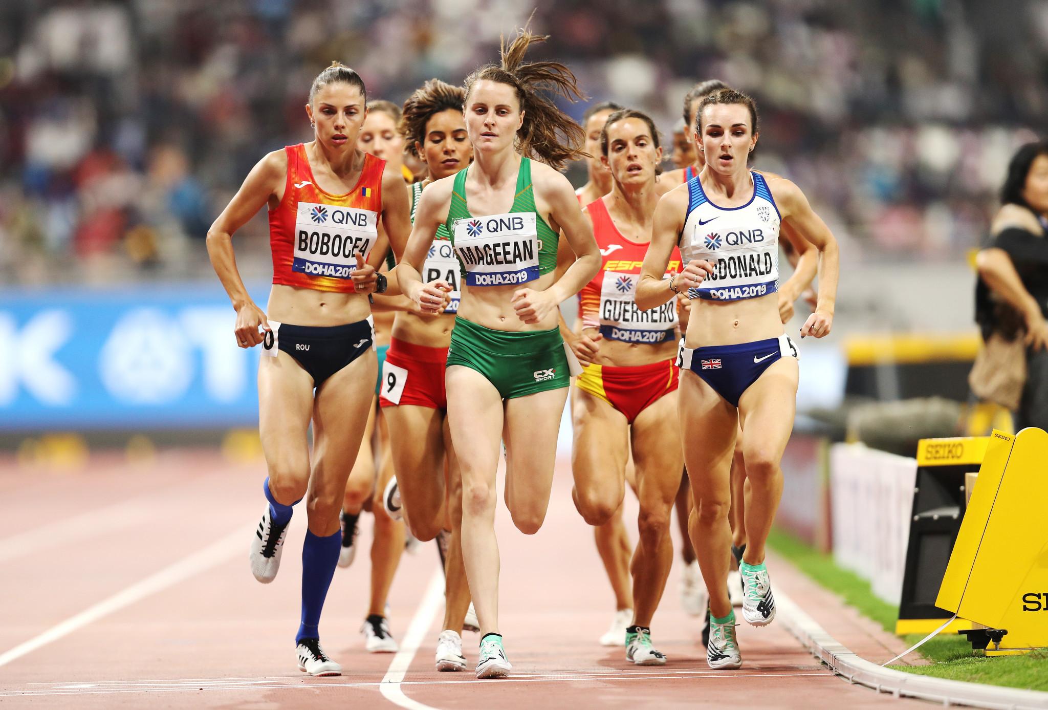 Ciara Mageean will lead Irish track hopes at Tokyo 2020 ©Getty Images