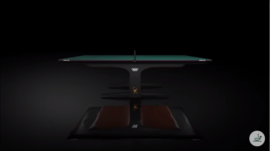 ITTF unveils unique design of tables for Tokyo 2020 Olympic Games