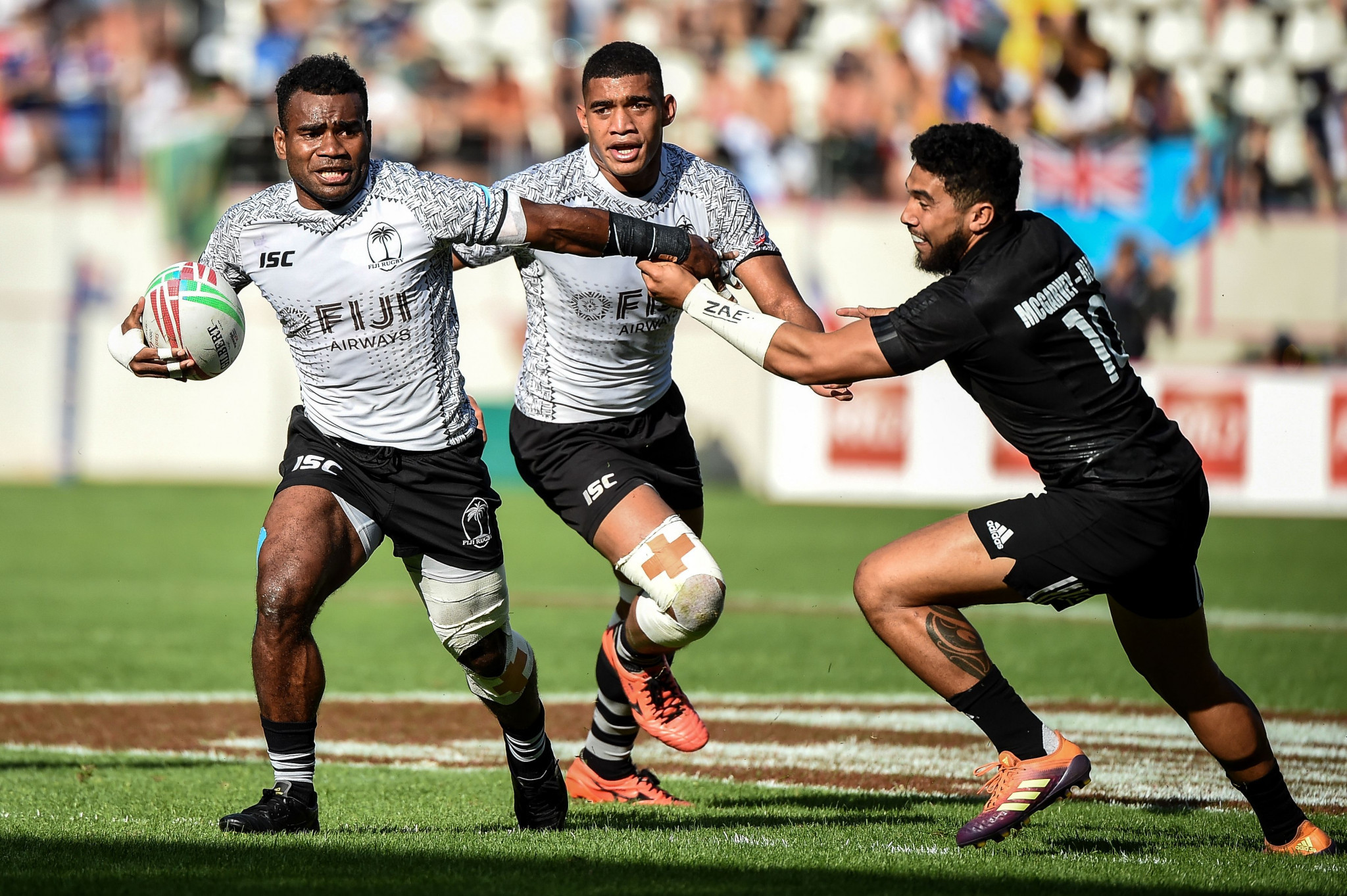 Fiji and New Zealand have an epic sevens rivalry ©Getty Images