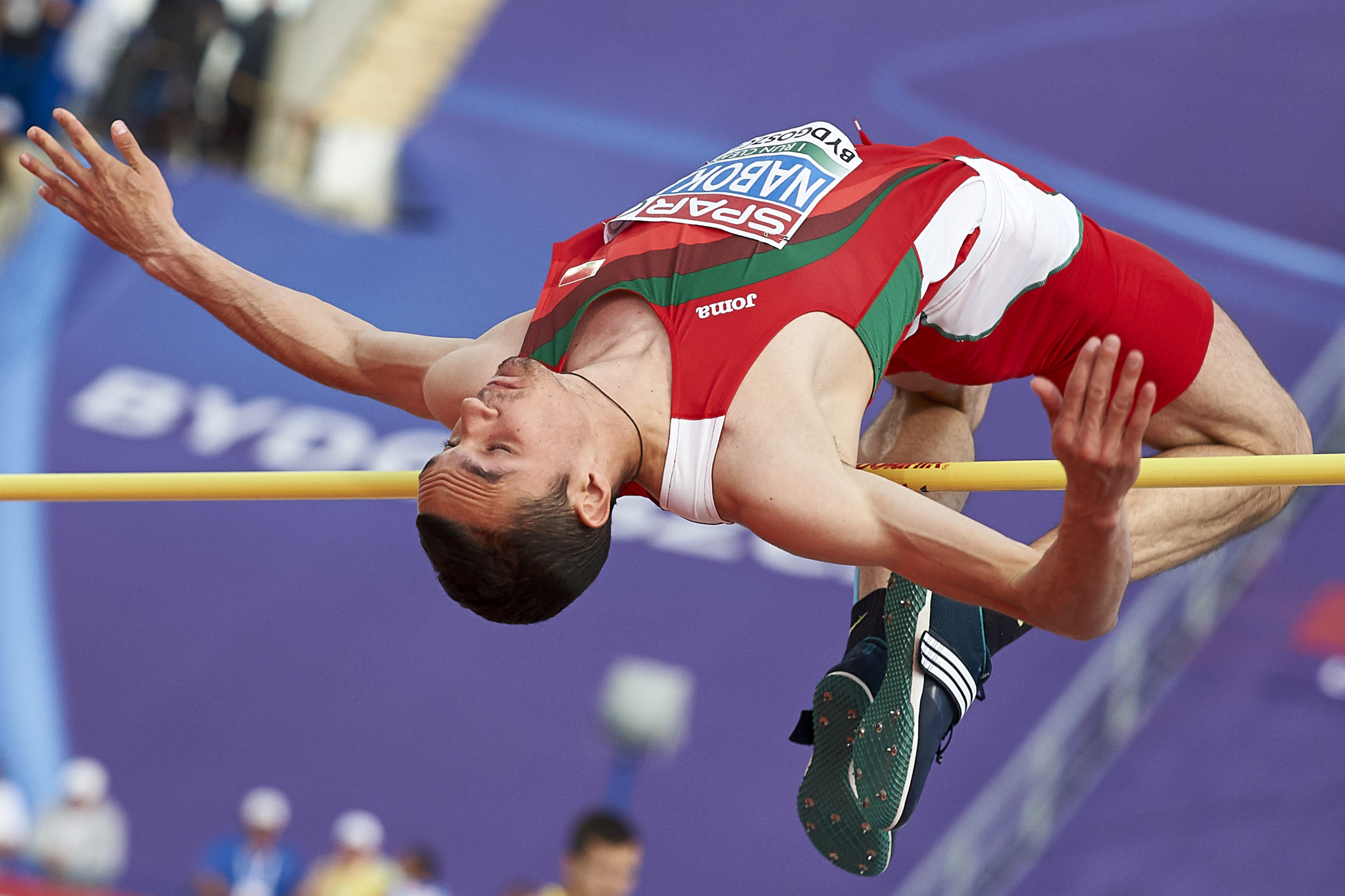 Belarus high jumper suspended for doping