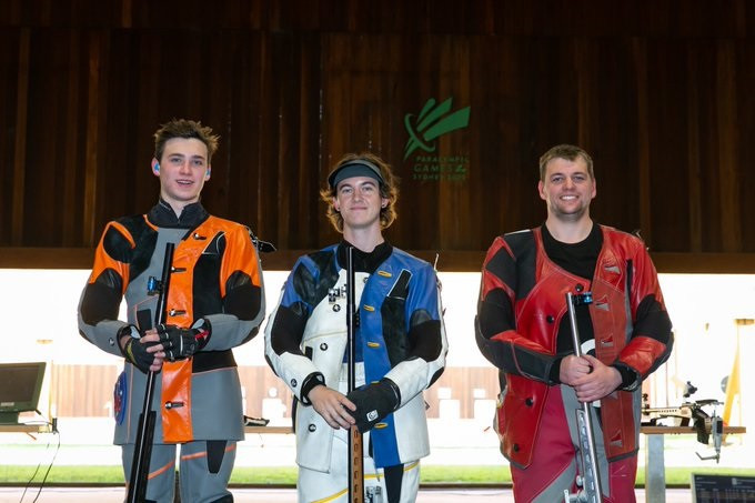 Jack Rossiter topped the men's 50 metres three positions rifle podium at the Oceania Shooting Championship in Sydney ©Shooting Australia/Twitter